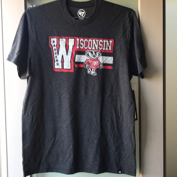 Other - Wisconsin Badgers heathered tee